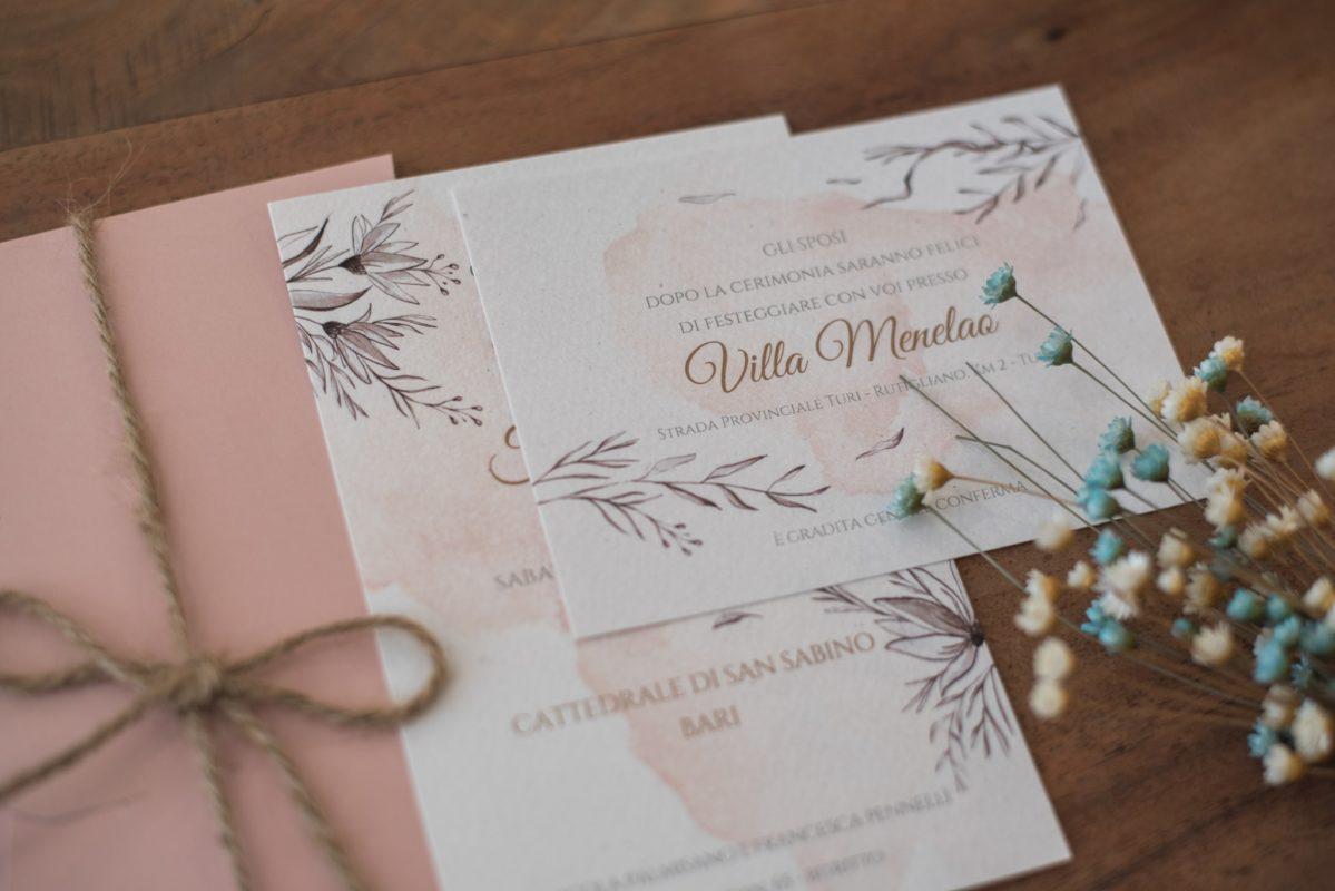 Partecipazioni Matrimonio Bari.Inviti Chic Bari Il Matrimonio In Puglia
